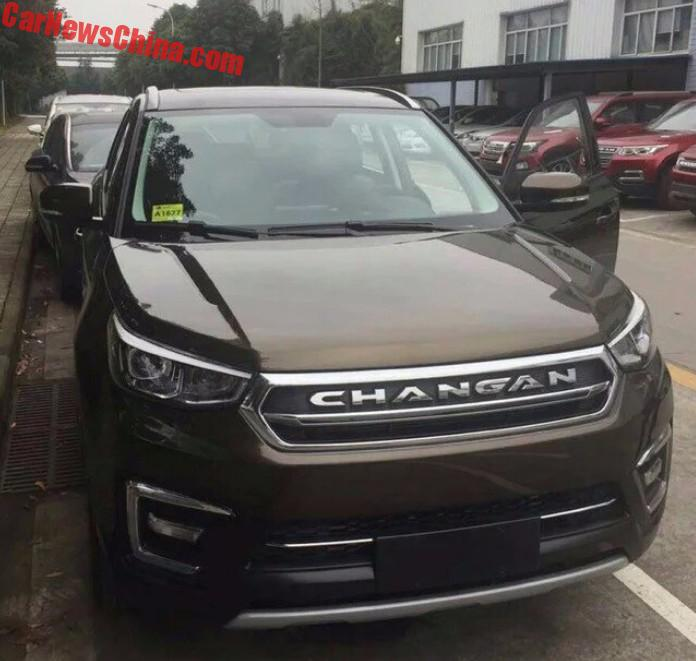 Spy Shots The Changan Cs55 Suv Is Ready For China Carnewschina