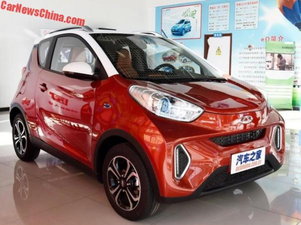 The Chery eQ1 EV Is What Mercedes-Benz Is Up Against In China