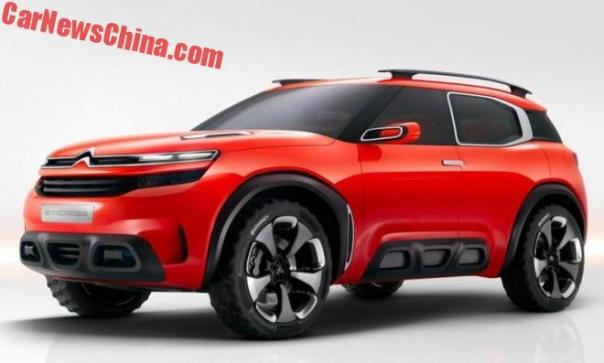 New Citroen SUV To Debut On The Shanghai Auto Show In China