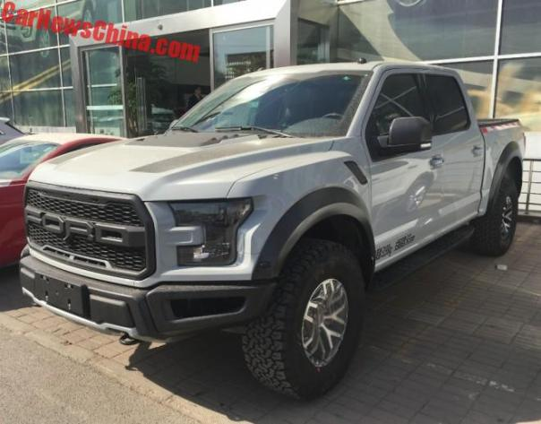 This Is The China-Spec Ford F-150 Raptor