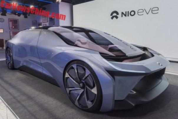 NIO Launches The Eve Autonomous Electric Concept Car