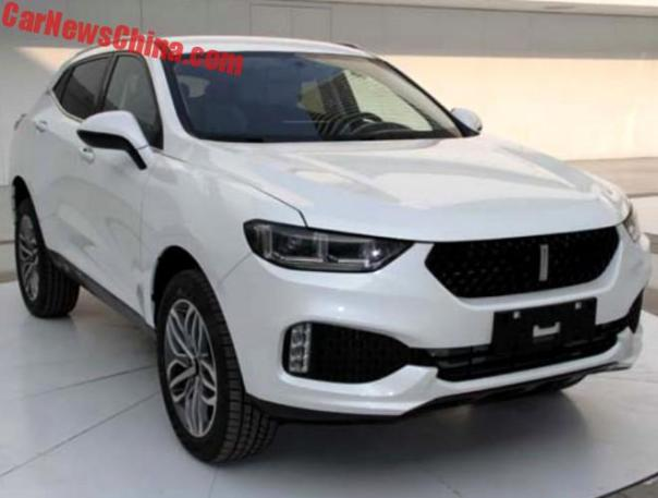 This Is The New WEY 02 SUV For China