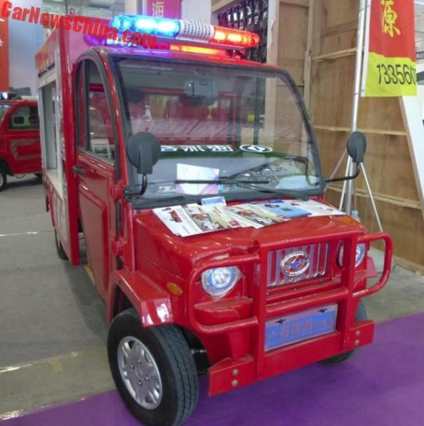 The Xinlonghai 2300 LSEV From China Is The Hottest Firetruck In The World