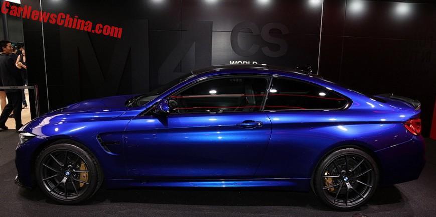 2019 Bmw M4 Cs >> BMW M4 CS Launched On The Shanghai Auto Show In China - CarNewsChina.com - China Auto News