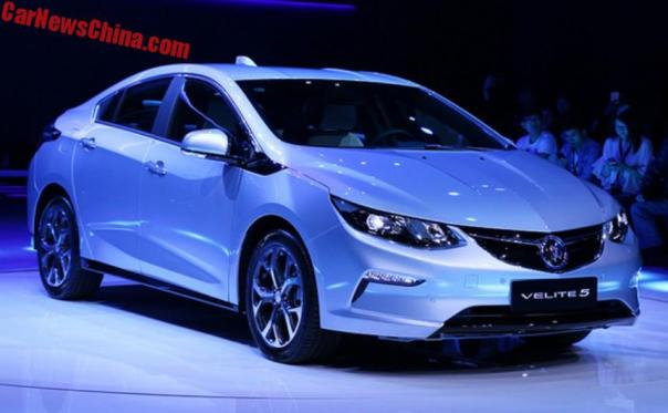 Buick Velite 5 Launched In Shanghai, China