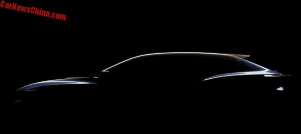 Chery To Unveil The Tiggo Coupe Concept On The Shanghai Auto Show
