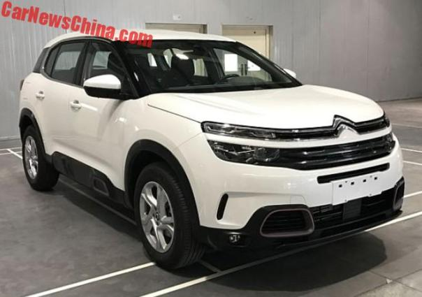 This Is The Citroen C5 Aircross For China