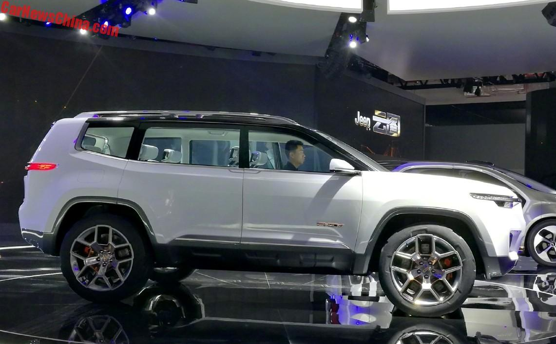 The Jeep Yuntu Concept Is A Big Seat Suv For China