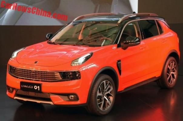 Geely's Lynk & Co Launches The 01 SUV, Set To Sell In The United States In 2019