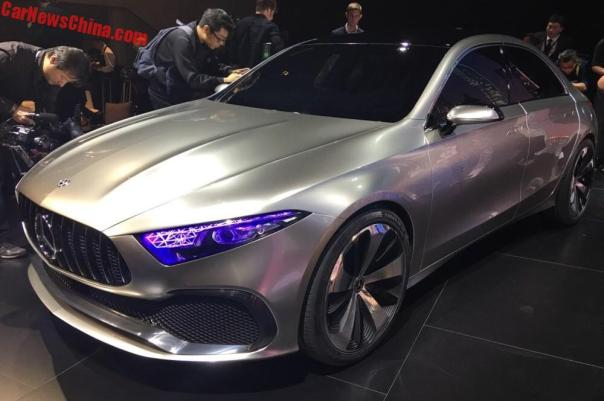 Mercedes-Benz Concept A Sedan Unveiled In China