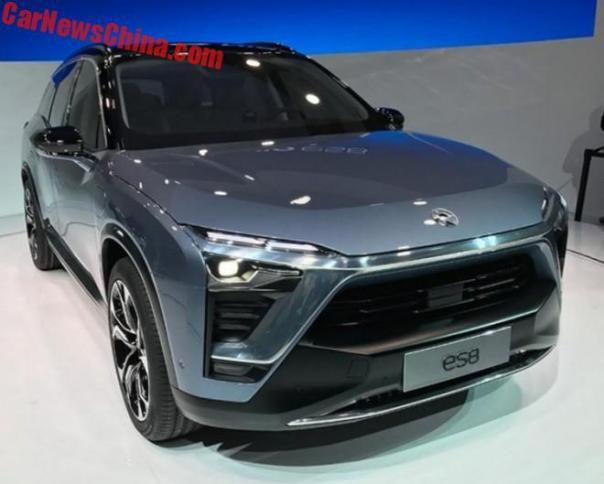 NextEV NIO ES8 Is A Surprisingly Normal Electric SUV