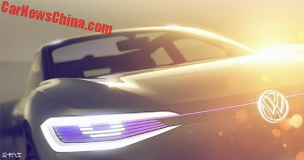Volkswagen To Launch I.D. Crossover Concept On The Shanghai Auto Show In China
