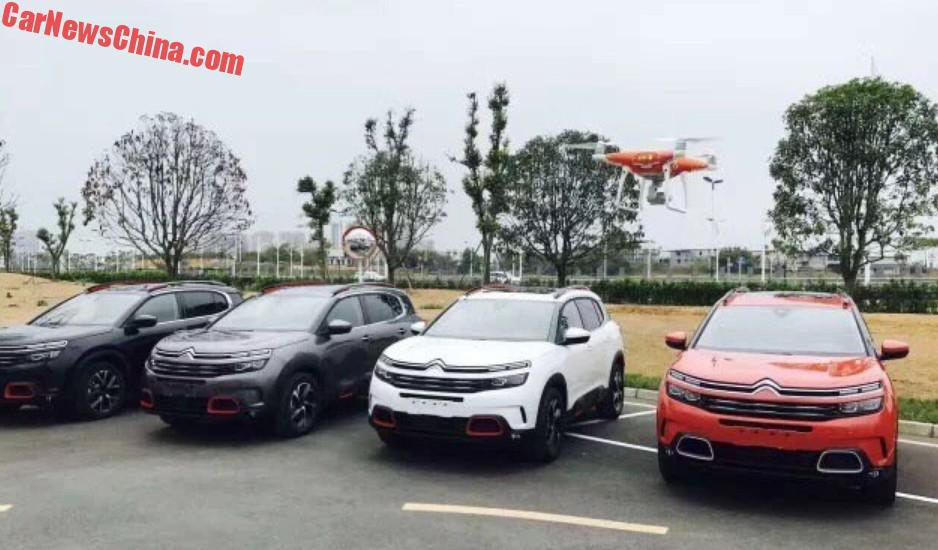 citroen c5 aircross suv is almost ready for china china auto news. Black Bedroom Furniture Sets. Home Design Ideas