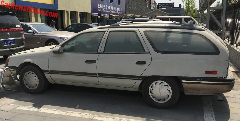 Large Roof Rack Was Standard On The Wagon.
