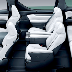 All New Vellfire 2018 Grand Avanza Veloz Interior Toyota Executive Lounge Lexus Of Minivans Gets A Luxurious Seating Offers An Ottoman Function For Increased Comfort Heated And Ventilated Seats Stowable Table Other Amenities Like