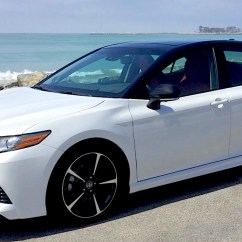 All New Camry Sport Toyota Yaris Trd 2015 Harga 2018 Xse V6 Review Sports Sedan Surprise The Best While Every Model Gains Completely Styling Top Line Is Dressed With A Gloss Black Front Grille Mesh