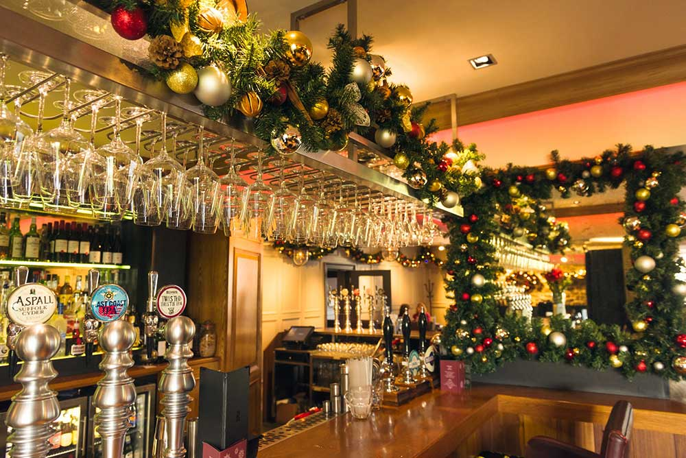 Christmas Decorations Edinburgh