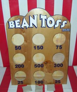 bean toss carnival game