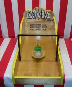 Knock a Block Carnival Game