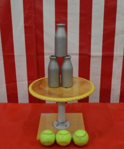 One Ball Table with 1lb Aluminum Bottles