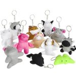 Plush Bean Bag Keychain