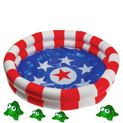 Inflatable Frog Pond Carnival Game