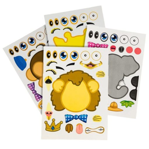 Make A Zoo Sticker Carnival Prize