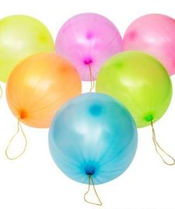 """9"""" Latex Punch Ball Carnival Prizes"""