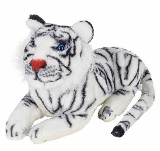 "15"" White Tiger Plush"