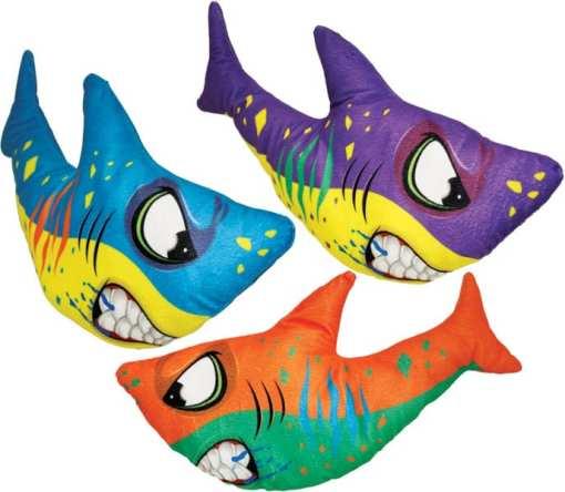 Mean Shark Carnival Prize Plush