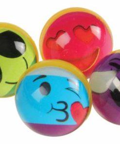 Rainbow Emoji Bounce Balls Carnival Prize