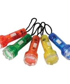 Plastic Mini Flashlight Toys Carnival Prize