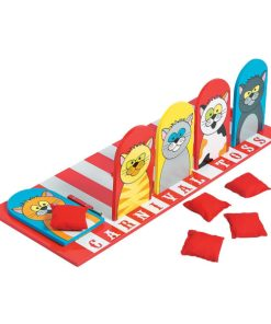 Carnival Cat Bean Bag Toss Game