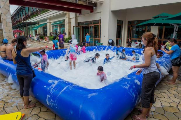 Foam Pool Rental Singapore