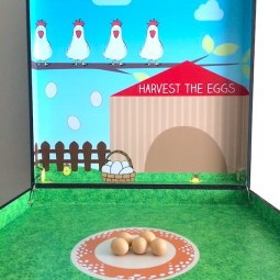 Egg Nest Toss