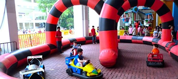 Inflatable Race Track Rental