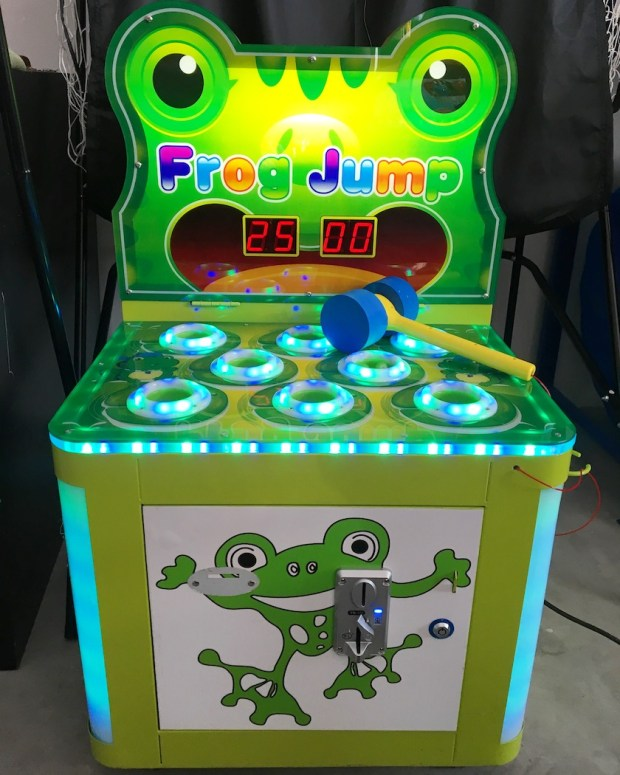 Whack a Frog Arcade Machine Rental