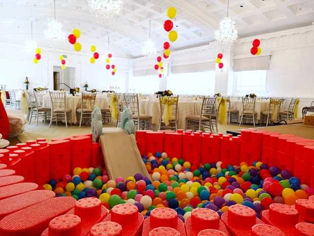 Lego Ball Pit for Rent Singapore