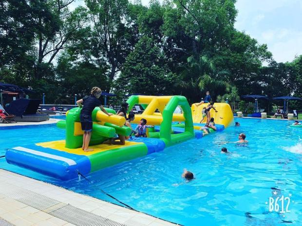 Water Obstacle Course rental in SIngapore
