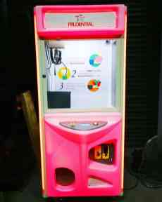 Custom Branding on Arcade Claw Machine Rental