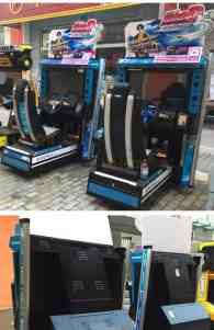 Initial D arcade machine Rental