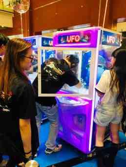 Branding on arcade Toy Catcher Machine