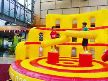 Gladiator Dome Inflatable Game