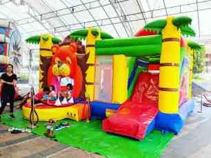 Lion Bouncing Castle Rental