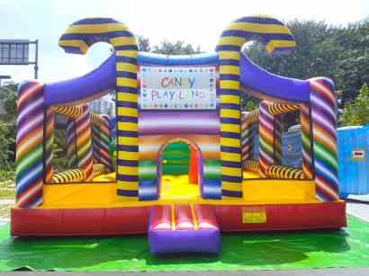 Singapore Candy Land Bouncy Castle