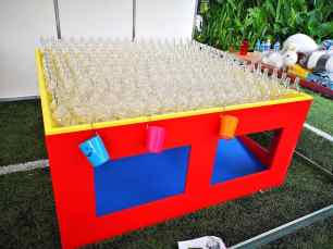 Carnival Bottle Ring Toss Rental