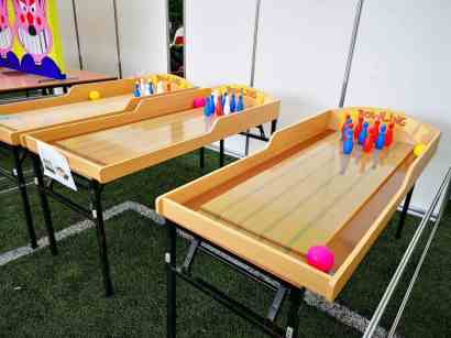 Fun Fair Bowling Game for Rent