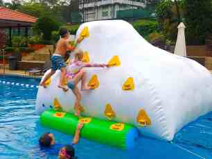 Water Inflatable Rock Obstacle Rental