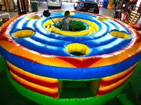 Human Whack a Mole Inflatable Game