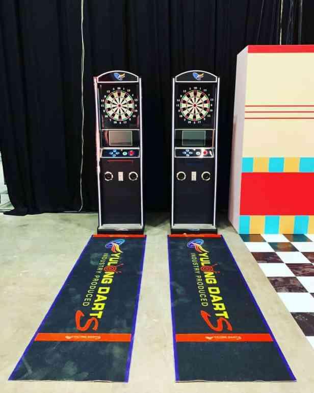 Professional Dart Machine Rental